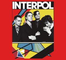 SALE ENDS 10/2 Interpol shirt design #1 & DEPECHE MODE COVERS by Shaina Karasik