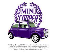Classic 1999 Mini Cooper S Sportspack Photographic Print