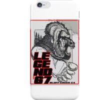 Legend of 67 Original iPhone Case/Skin