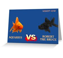 Street Fightin' Fish Greeting Card