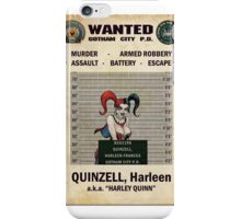 Harley Quinn - Gotham's Most Wanted iPhone Case/Skin