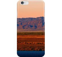 Port Augusta - Evening Train iPhone Case/Skin
