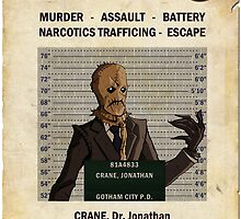 Scarecrow - Gotham's Most Wanted by ianscott76