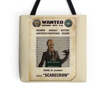 Scarecrow - Gotham's Most Wanted Tote Bag