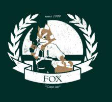 Fox - Super Smash Bros by TyiraAhearne