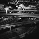 freeways by Jon  DeBoer
