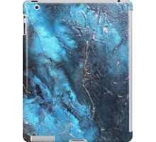 Aqua Pura Abstract Water Painting or Metal Wall Art by Artist Holly Anderson  iPad Case/Skin