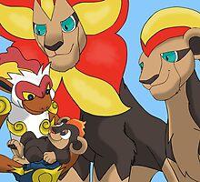 The Pyroar King - Lion King/ Pokemon Mash-up by MysticSanctuary