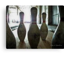 Abandoned Bowling Canvas Print