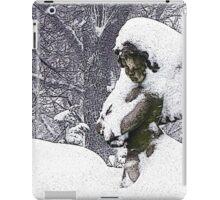 Consoling Angel • Cherub iPad Case/Skin