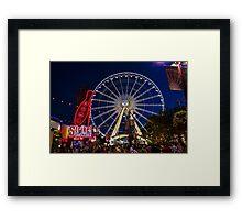 Niagara Falls Ferris Wheel Framed Print