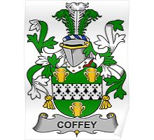 Coffey Coat of Arms (Irish) Poster