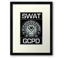 Gotham City SWAT Framed Print