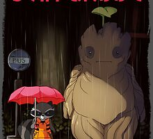 My Neighbor Groot by sammin