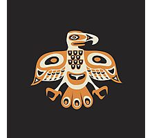 Bird - totem pole style Photographic Print