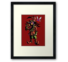 Skull Kid: Vessel of Evil Framed Print