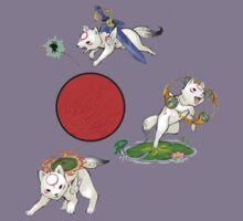 Baby Okami Trio  by FireWLizard