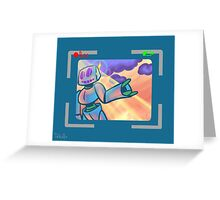Come with me. Greeting Card