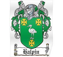 Halpin Coat of Arms (Irish) Poster