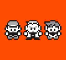 Pokemon All 3! Ash, Oak and Gary/Rival - Red / Blue Kids Clothes
