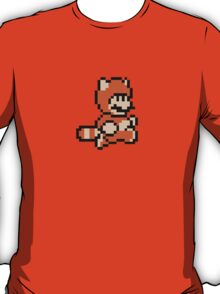 Tanooki Suit Mario - Super mario land 3 8 bit T-Shirt