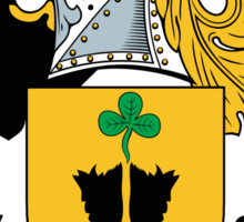 Hickson Coat of Arms II (Kerry, Ireland) Sticker