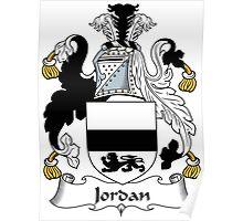 Jordan Coat of Arms (Irish) Poster