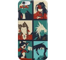 Final Fantasy VII - Characters iPhone Case/Skin