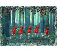 5 lil reds 1 Photographic Print