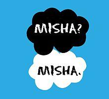 Misha Collins - TFIOS by Susanna Olmi