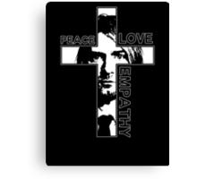 Peace Love Empathy Canvas Print
