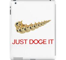 Just Doge It iPad Case/Skin