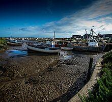 Brancaster Staithe,Norfolk  by savosave
