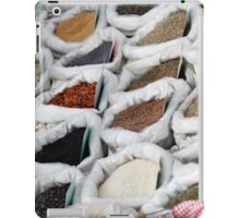 spices at the market iPad Case/Skin
