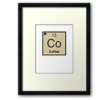 Co Coffee Element Framed Print