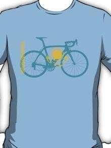 Bike Flag Kazakhstan (Big) T-Shirt