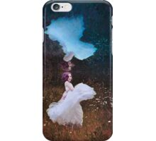 The Girl Under the Pond - Conceptual image  iPhone Case/Skin