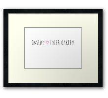 Q&Slay! Framed Print