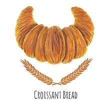 The Croissant Bread by haidishabrina