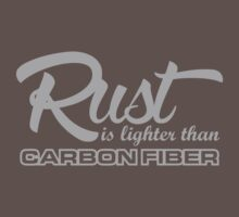 Rust is lighter than carbon fiber (6) by PlanDesigner