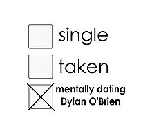 dating Dylan Photographic Print
