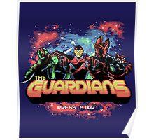 Retro Guardians Poster