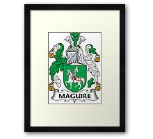 Maguire Coat of Arms (Irish) Framed Print