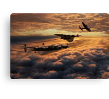The Bomber Age  Canvas Print