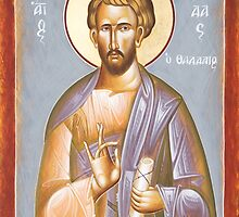 St Jude Thaddeus by ikonographics