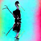 Neon Pelican by shalisa