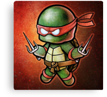 """Raph"" POOTERBELLY Canvas Print"