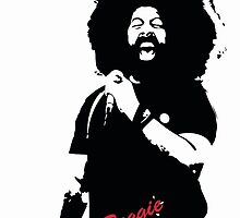 Reggie Watts by Tiffany Hazelwood