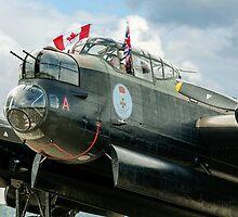 "Avro Lancaster B.X FM213/C-GVRA ""Vera"" nose detail by Colin Smedley"