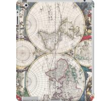 Vintage Map of The World (1685)  iPad Case/Skin